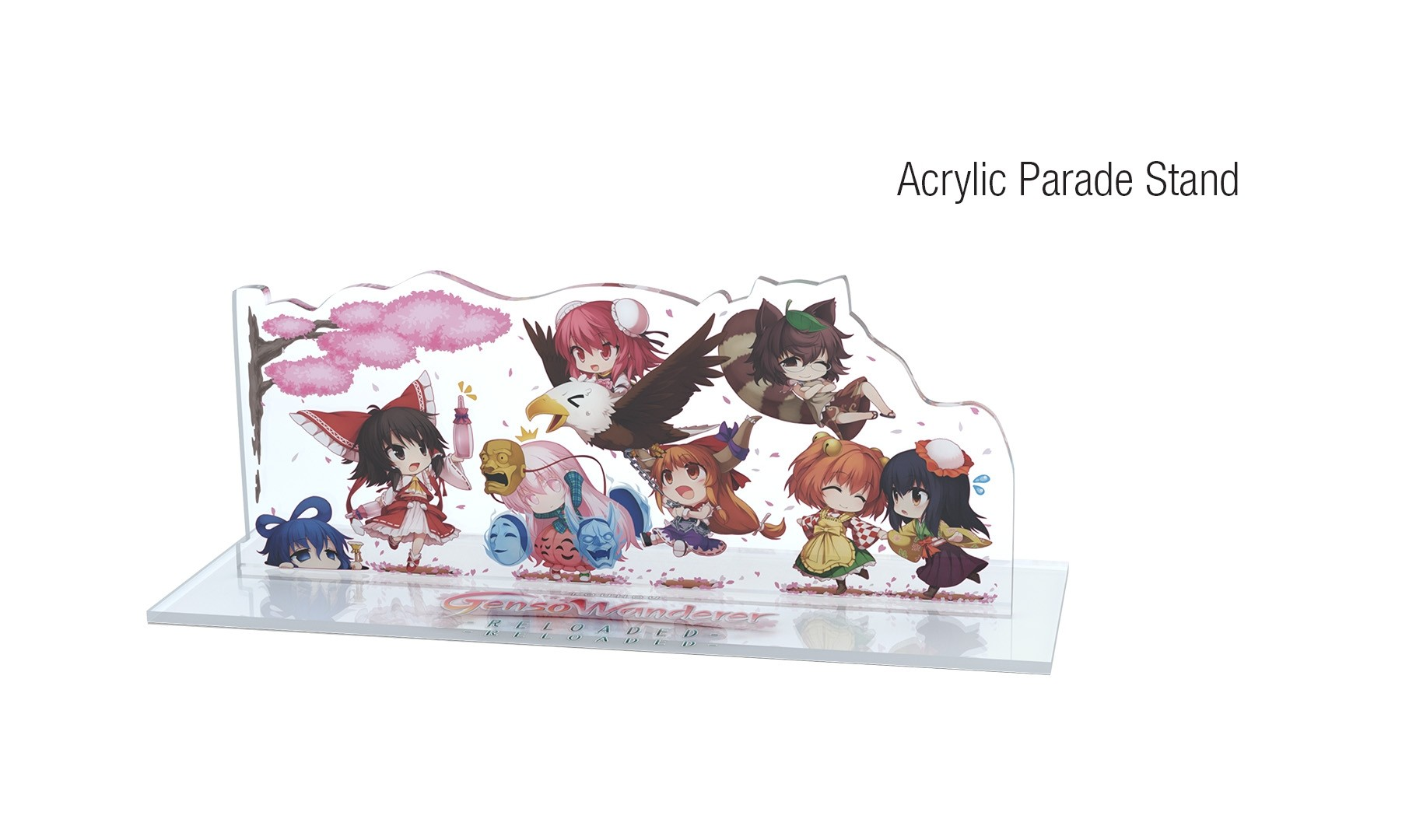 Touhou Genso Wanderer Reloaded - Stand Parade